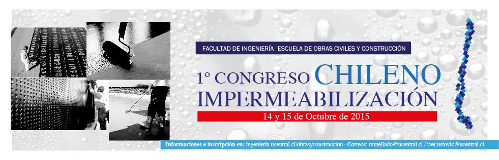 Primer Congreso Chileno de Impermeabilización